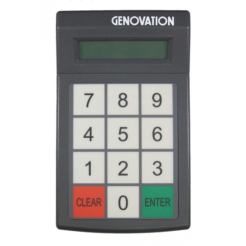 GENOVATION MICROPAD 627 RS-232 TREIBER